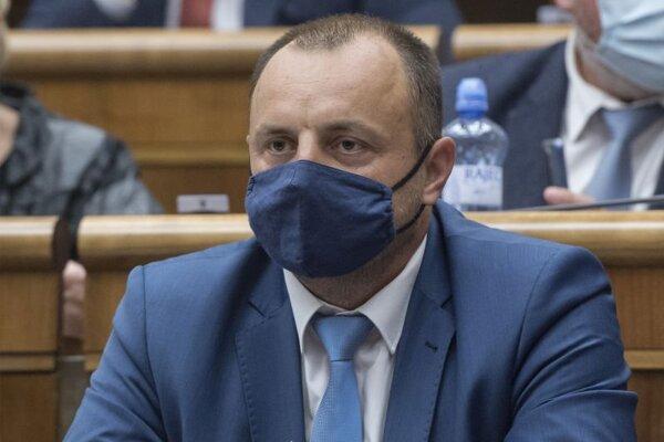 Poslanec parlamentu Lukáš Kyselica (OĽaNO).