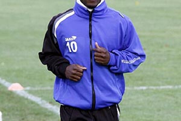 Seydouba Soumah od polovice septembra nehrá futbal, iba trénuje.