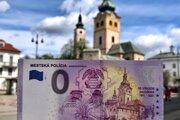 Predaj 0-eurových bankoviek sa v Banskej Bystrici začne v sobotu.