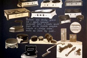 Bojdova firma Embo vyrábala aj žehličky, variče, sporáky.