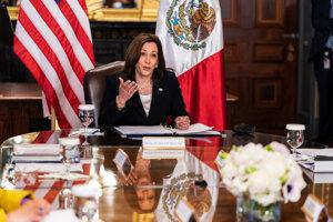 Americká viceprezidentka Kamala Harrisová.