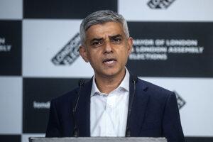 Primátor Londýna Sadiq Khan.