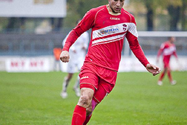 Andrej Hodek strelil v Nitre svoj ôsmy gól v sezóne.