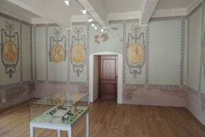 Radná sieň v Pohronskom múzeu - archív.