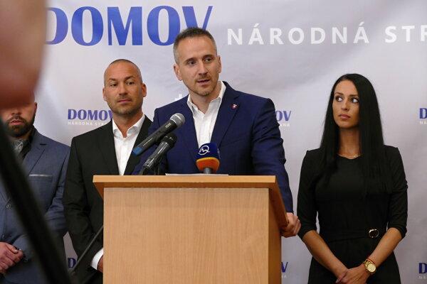 Ján Havránek, Pavol Slota, Jana Jányová.