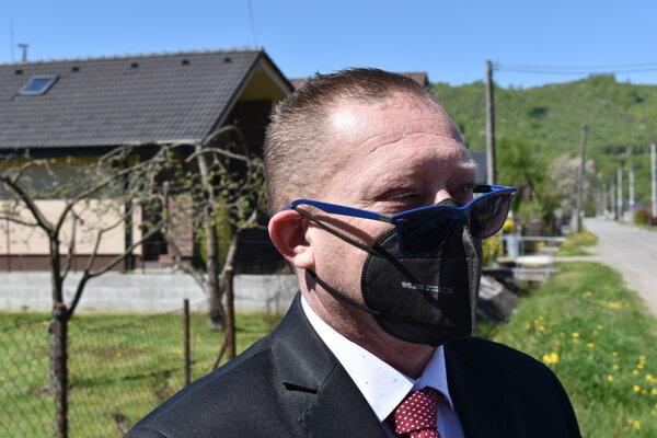Peter Bollo, starosta obce Krásnohorské Podhradie.