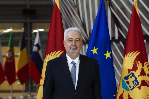 Premiér Zdravko Krivokapič.