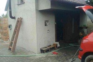 Pri požiari sa nikto nezranil.