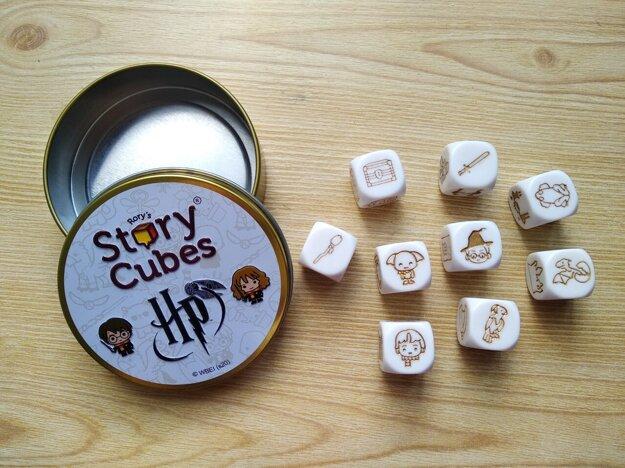 Hra Story Cubes - Harry Potter.