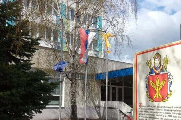 Mestský úrad vo Vrábľoch.