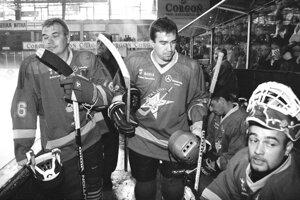 2001: Na rozlúčke Ivana Hrtúsa.