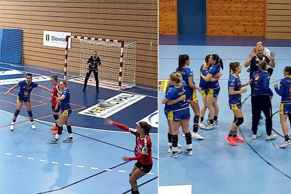 Z postupu do finále sa tešili hráčky Dunajskej Stredy.