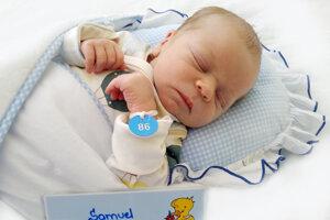 Samuel Líška z Diviackej Novej Vsi sa narodil 8. 5. 2021 v Bojniciach