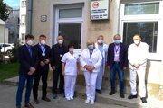Kolaudácia diagnostickej časti Kliniky hematológie a transfúziológie UNM.