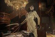Lady Dimitrescu z Resident Evil Village.