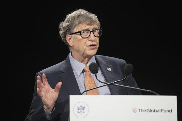 Spoluzakladateľ Microsoftu Bill Gates.