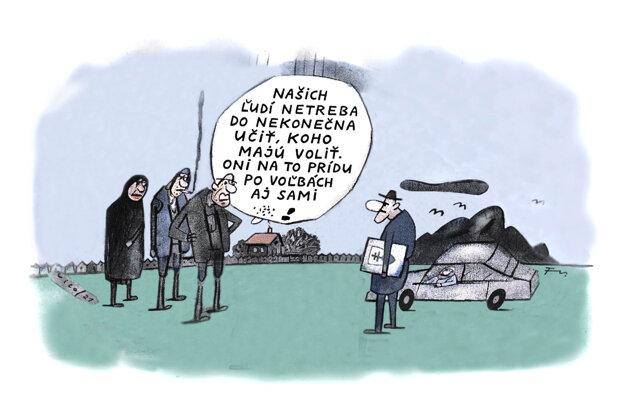 Karikatúra - 18.5.2021.