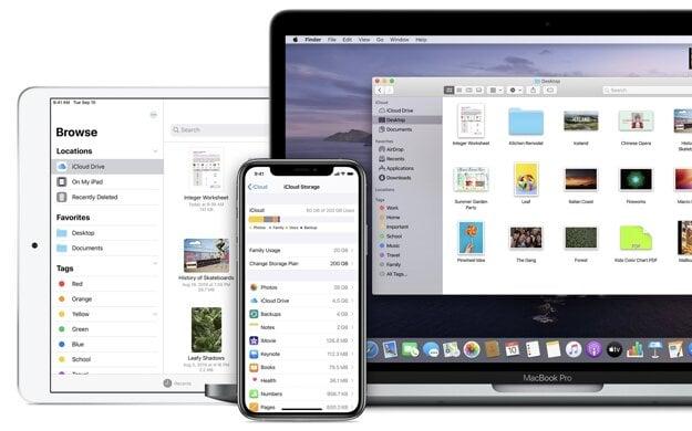 Cloudové úložisko iCloud od Apple
