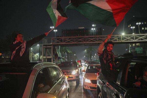 Palestínska komunita vyjadrila odpor proti násiliu.