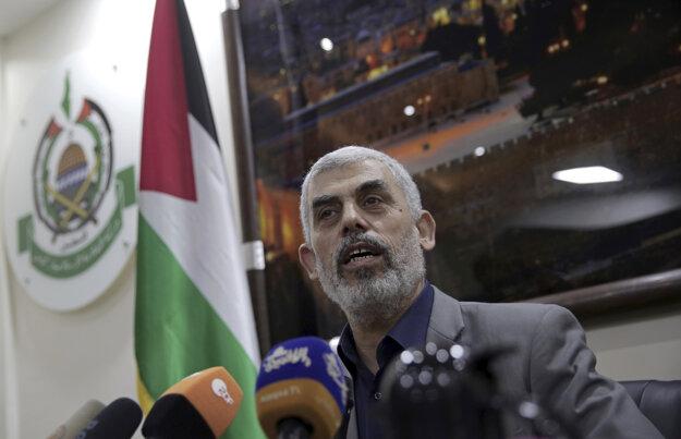 Líder Hamasu v pásme Gazy Jehíja Sinwar
