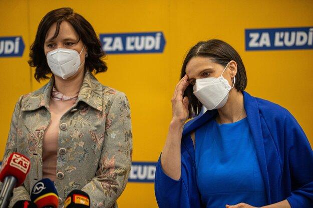 Veronika Remišová a Mária Kolíková.