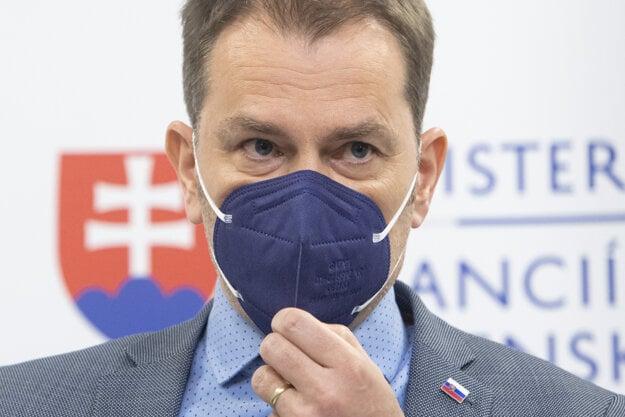 Porazil Roberta Fica a teraz bojuje o politické prežitie. Minister financií Igor Matovič.