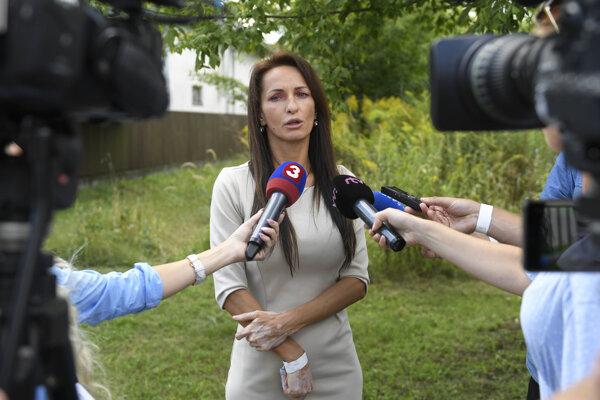 Generálna riaditeľka Slovenského pozemkového fondu Gabriela Bartošová.