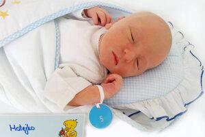 Matej Štefka z Lazian sa narodil 16.5.2021 v Bojniciach