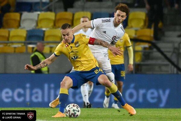 Zápas D. Streda - Spartak Trnava