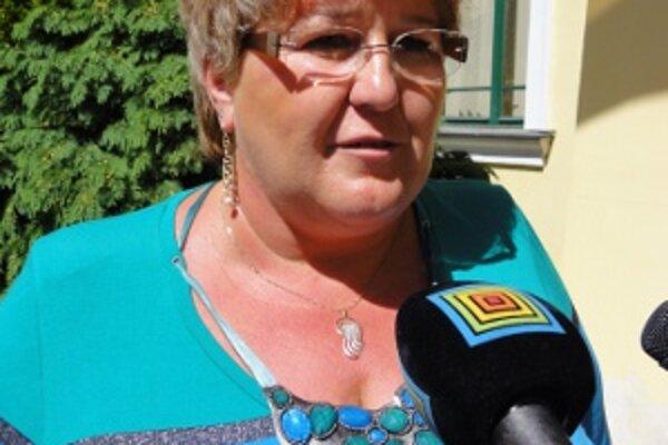 Vedúca odboru sociálnych vecí a zdravotníctva na župnom úrade Miluša Budayová.