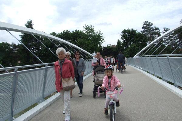 Strabag staval pre mesto aj cyklolávku, otvorili ju koncom mája.