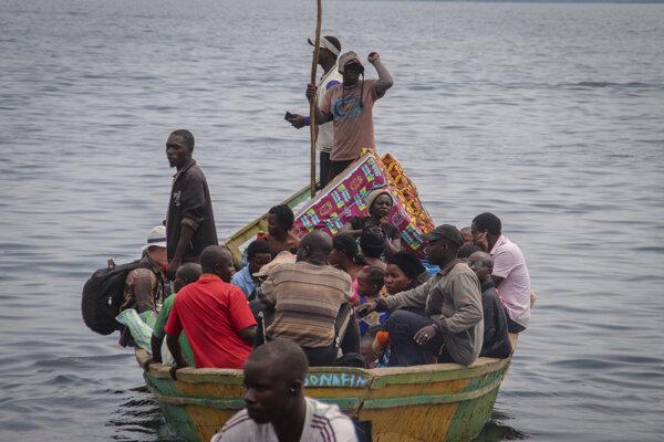 Výbuch vulkánu Nyiragongo donútil desaťtisíce ľudí utiecť zo svojich domovov
