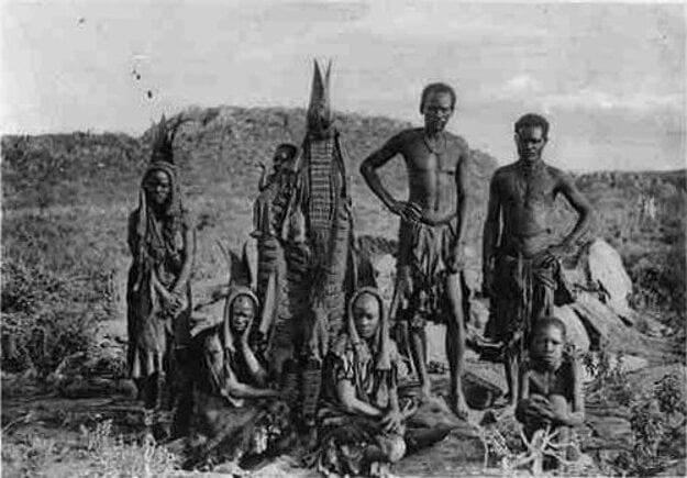 Skupina Hererov, fotografia okolo roku 1900.