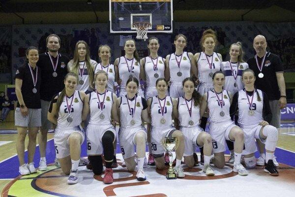Strieborné družstvo BK ŠKP 08 Banská Bystrica/BK Zvolen