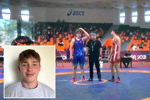 Štrnásťročný Michal Berka z TJ AC Nitra vybojoval 5. miesto na majstrovstvách Európy.