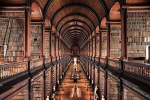 The Library of Trinity College, Dublin, Ireland