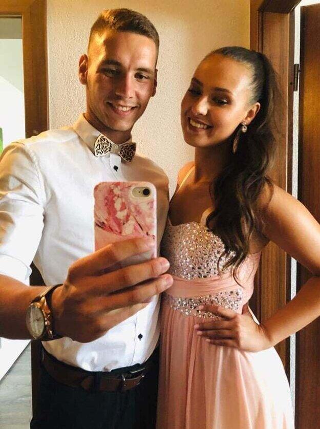 Juraj Sipos s priateľkou Patríciou.