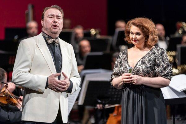 Jubilanti - Jaroslav Dvorský a Táňa Paľovčíková Paládiová.