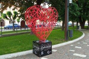 Srdce v Levoči.