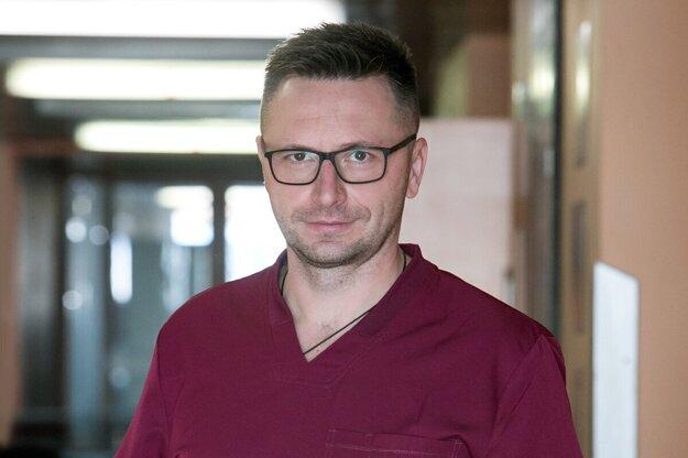 Prednosta I. psychiatrickej kliniky Univerzitnej nemocnice L. Pasteura v Košiciach Jozef Dragašek.