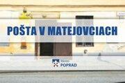 Oznam na sociálnej sieti mesta Poprad.