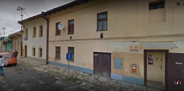 Pošta v Matejovciach.