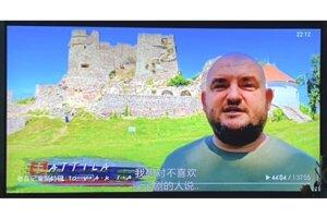 Tento záber dostal Levičan ako prvý od kamaráta z Číny z tamojšieho vysielanie. Vtedy zistil, že film vysielajú na celom svete.
