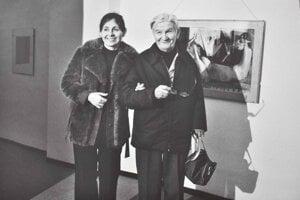 Mária Bartuszová a J.Jakoby  Foto: Zdeněk Smieško