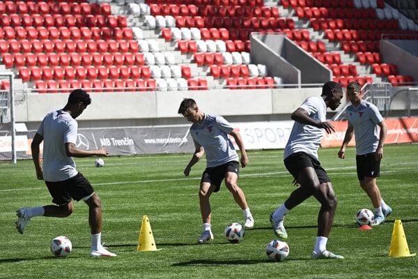 AS Trenčín dnes začal prípravu na novú fortunaligovú sezónu.