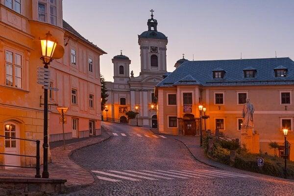 Banská Štiavnica.