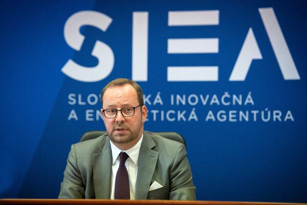 Generálny riaditeľ Slovenskej inovačnej a energetickej agentúry (SIEA) Peter Blaškovitš.