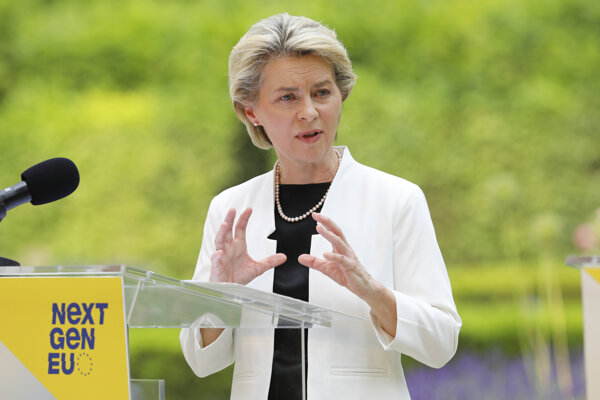 Nemecká politička, predsedníčka Európskej komisie von der Leyenová