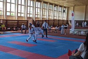 Karatisti sa po dlhšom čase zúčastnili súťaže Pohár SŠŠ v karate.