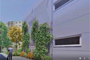 Budova bude pozostávať z rôznych odhlučnených materiálov vrátane stien a strechy.